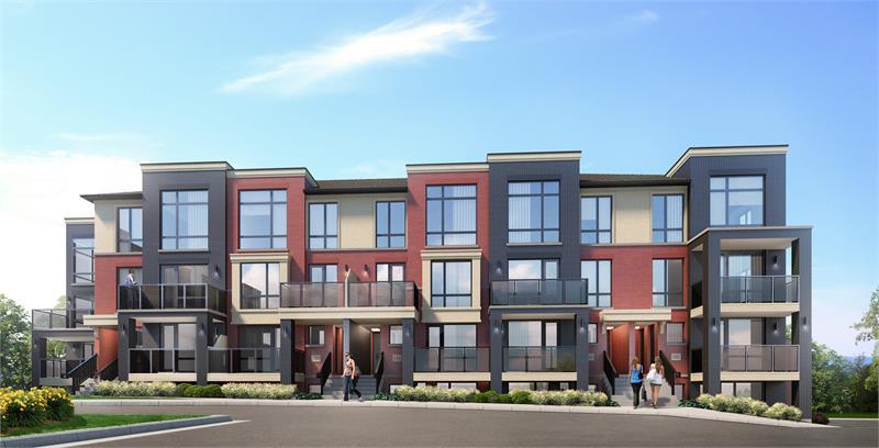 Urban Towndominiums at Mount Pleasant at Mississauga Road & Sandalwood Parkway West, Brampton, Ontario. Image 2