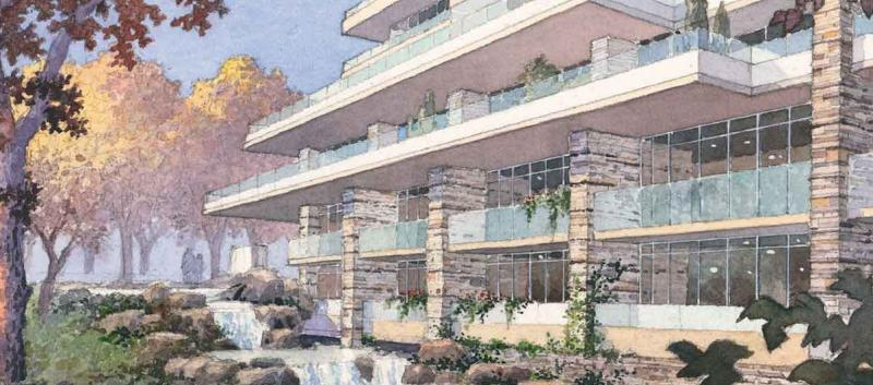 The Ravine Condos at 1215 York Mills Road, Toronto, Ontario. Image 3