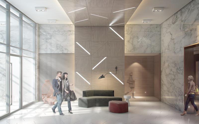Design Haus at College St and Spadina Ave, Toronto, Ontario. Image 1