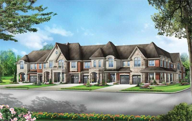 Ashley Mills at Mavis Road and Ray Lawson Boulevard, Brampton, Ontario. Image 1