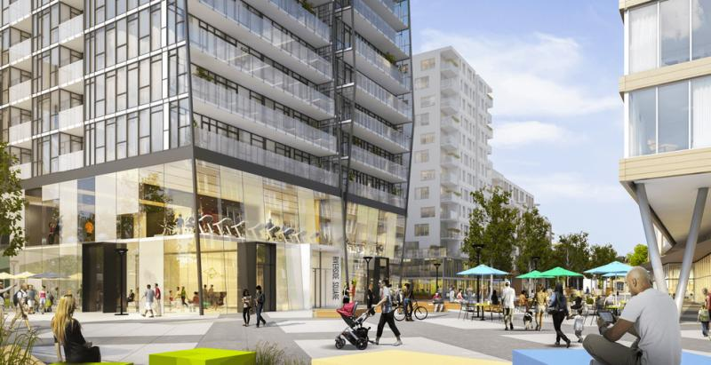 Riverside Square- East Collection at 677 Queen Street East, Toronto, Ontario. Image 2