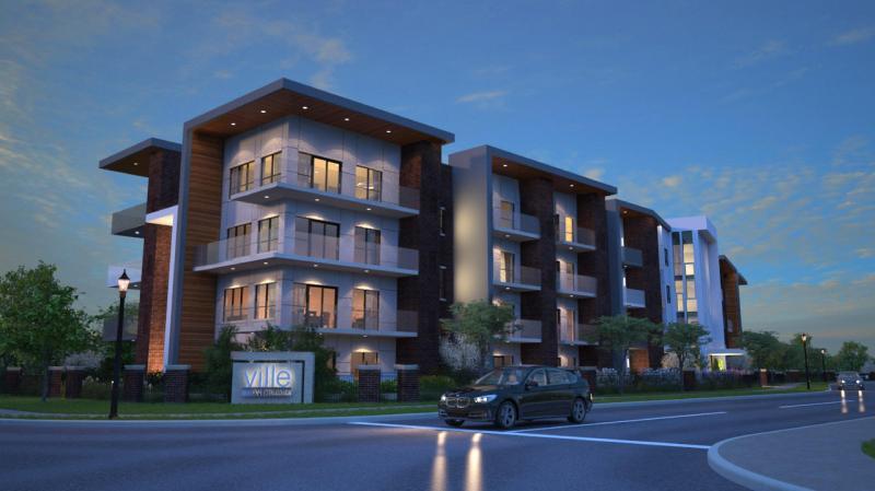 Ville Condominiums at Tannery Street, Mississauga, Ontario. Image 1