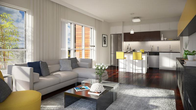 Ville Condominiums at Tannery Street, Mississauga, Ontario. Image 3