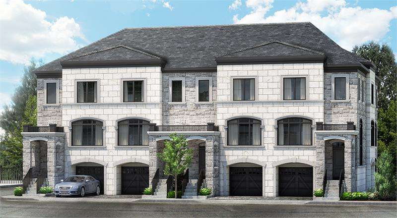 Renaissance Court at Bathurst Street and Carrville Road, Vaughan, Ontario. Image 1