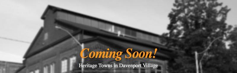 Heritage Towns in Davenport Village at 940 Lansdowne Avenue, Toronto, Ontario. Image 2
