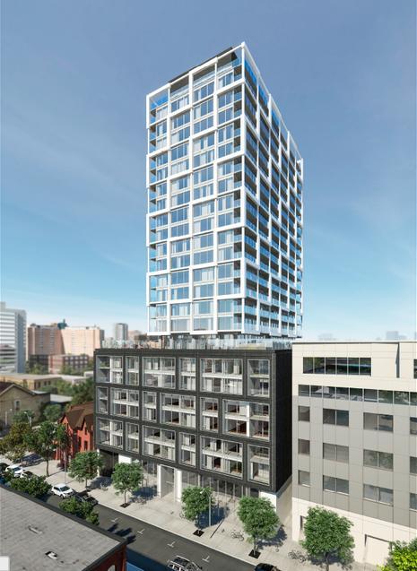 East 55 at 55 Ontario Street, Toronto, Ontario. Image 1