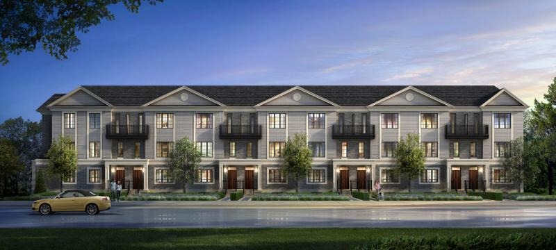 Luxe Towns on Valleymede at Highway 7 & Valleymede Drive, Richmond Hill, Ontario. Image 1