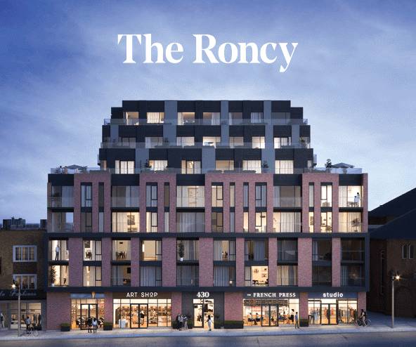 The Roncy at 422 Roncesvalles Avenue, Toronto, Ontario. Image 1