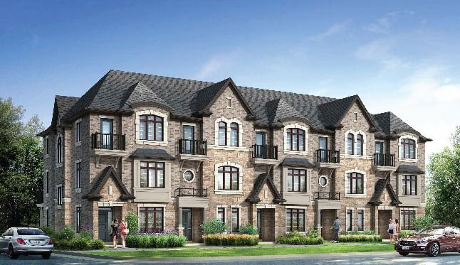 Ivory Oak Estates at Dundas Street West & Bronte Road, Oakville, Ontario. Image 1