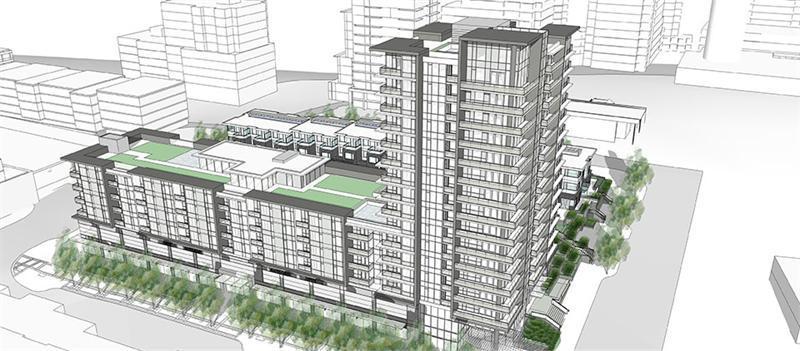 Centre Block at Univercity at 8955 University High Street, Simon Fraser University, Burnaby, Burnaby, British Columbia. Image 12