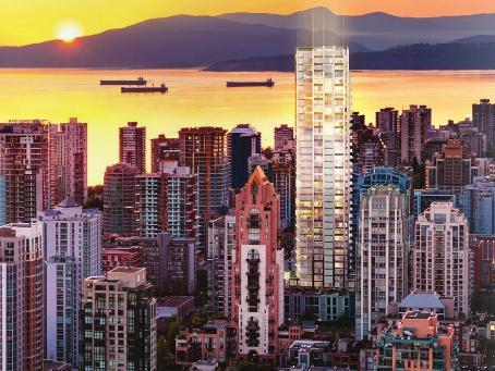 Tate Downtown at 1265 Howe Street, Vancouver, British Columbia. Image 1