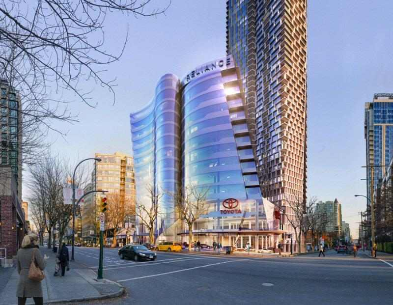Burrard Place at Burrard Street and Drake Street, Vancouver, British Columbia. Image 2