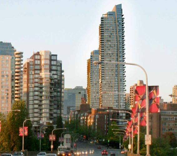 Burrard Place at Burrard Street and Drake Street, Vancouver, British Columbia. Image 3