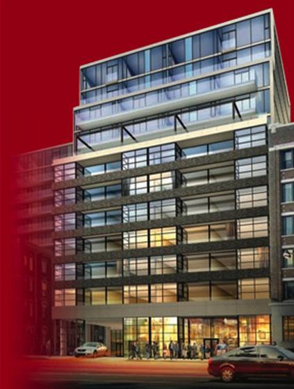 Victory Condominiums at King St W and Spadina Ave, Toronto, Ontario. Image 1