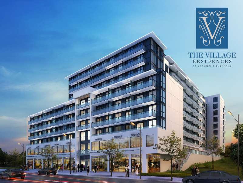 The Village Residences at 591 Sheppard Avenue East, Toronto, Ontario. Image 3