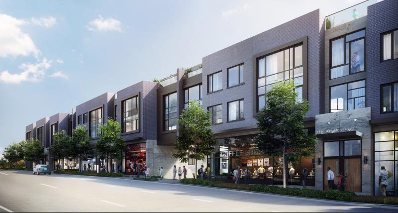 Opal Urban Towns at 3310 Kingston Road, Toronto, Ontario. Image 1