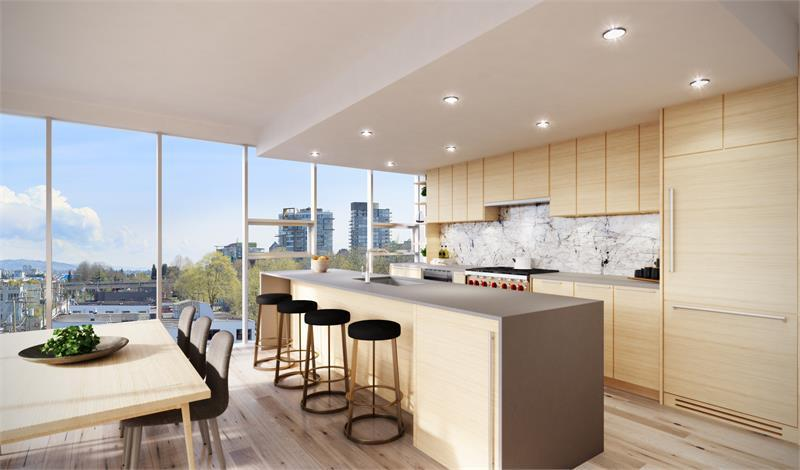 West Five at 1819 West 5th Avenue, Vancouver, British Columbia. Image 2