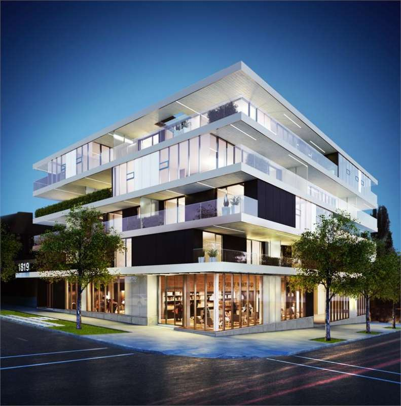 West Five at 1819 West 5th Avenue, Vancouver, British Columbia. Image 6
