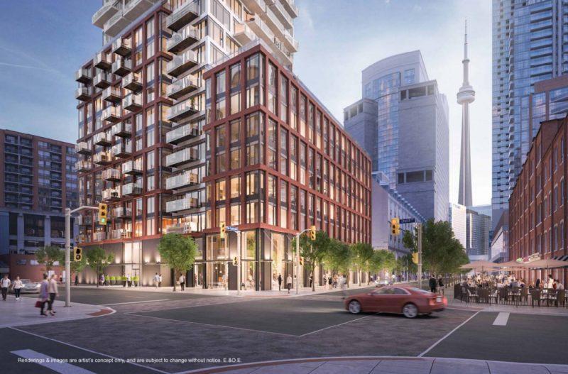 75 The Esplanade at 75 The Esplanade, Toronto, Ontario. Image 6