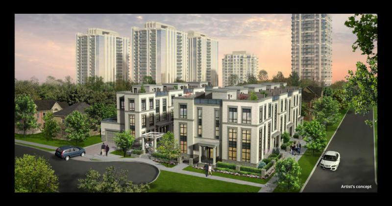 Kenneth and Holmes Urban Townhomes at Kenneth Avenue & Holmes Avenue, Toronto, Ontario. Image 1