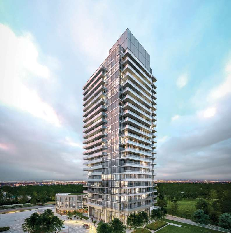 Fifth on the Park at Don Mills Road and George Henry Boulevard, Toronto, Ontario. Image 1