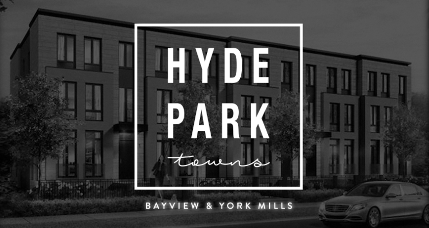 Hyde Park Towns at 2716 Bayview Avenue, Toronto, Ontario. Image 1
