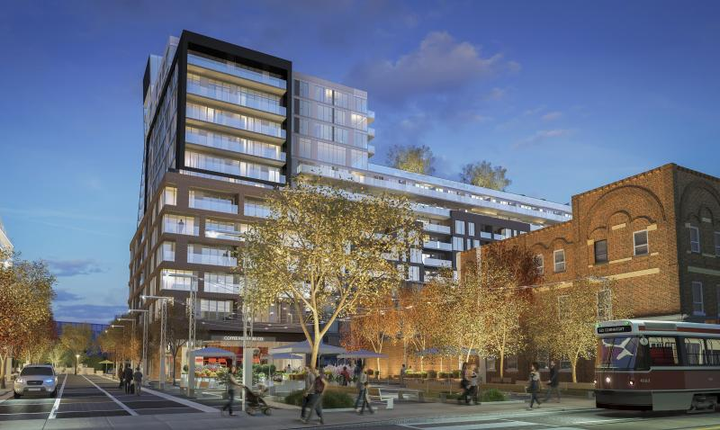 Riverside Square- City Collection at 677 Queen Street East, Toronto, Ontario. Image 3
