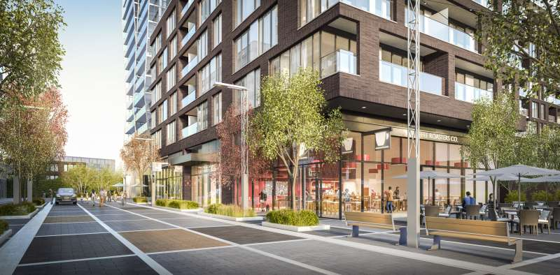 Riverside Square- City Collection at 677 Queen Street East, Toronto, Ontario. Image 4