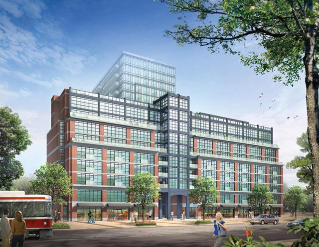 Bohemian Embassy Flats & Lofts at 1171 Queen St W, Toronto, Ontario. Image 1