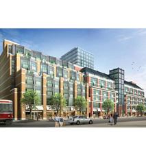 Bohemian Embassy Flats & Lofts at 1171 Queen St W, Toronto, Ontario. Image 2