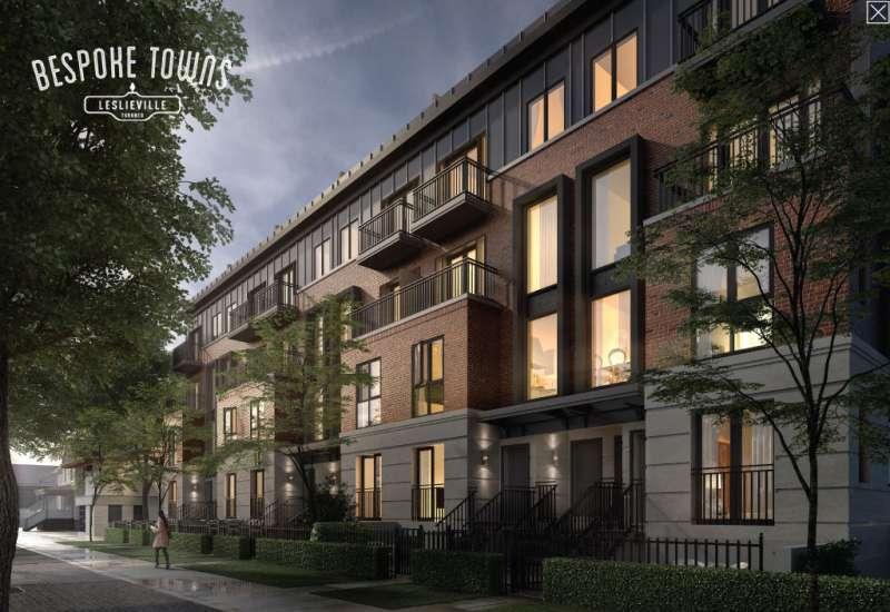 Bespoke Towns at 96 Coxwell Avenue, Toronto, Ontario. Image 1