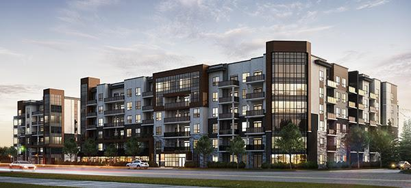 Affinity Condominiums at Plains Road East and Filmandale Road, Burlington, Ontario. Image 1