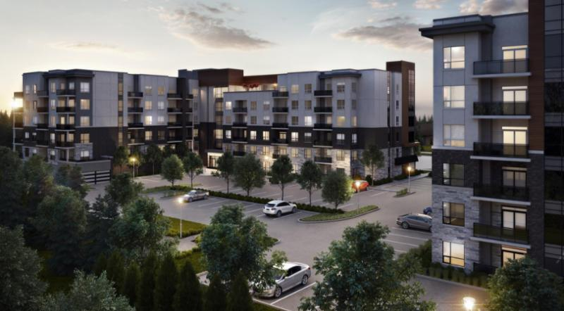 Affinity Condominiums at Plains Road East and Filmandale Road, Burlington, Ontario. Image 4