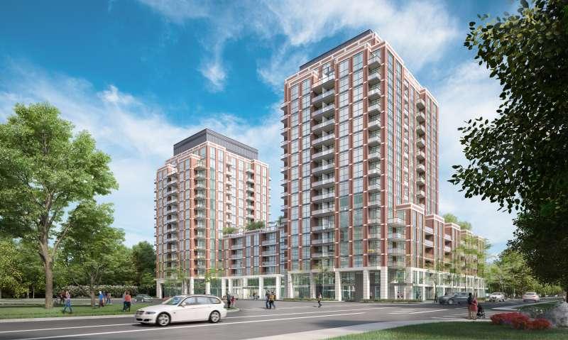Southside Condos at 9 Tippett Road, Toronto, Ontario. Image 4