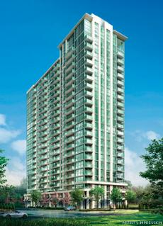 Grande Mirage at Confederation Parkway and Rathburn Road West, Mississauga, Ontario. Image 1