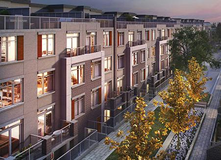 The Sixth at 6th Line and Dundas Street West, Oakville, Ontario. Image 2