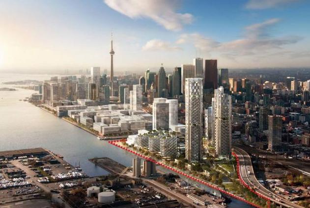 3C Waterfront at 309 Cherry Street, Toronto, Ontario. Image 2
