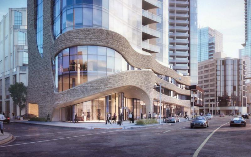 100 Davenport at 100 Davenport Road, Toronto, Ontario. Image 2