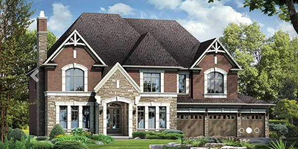 The Estates of West River Valley at Countryside Drive, Brampton, Ontario. Image 1