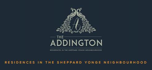 The Addington at Yonge Street and Sheppard Avenue West, Toronto, Ontario. Image 1