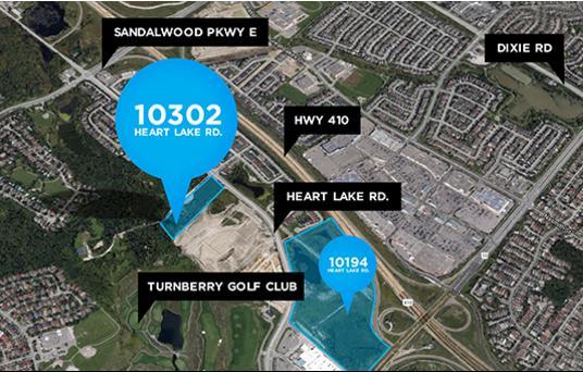 UPtowns at Heart Lake at Heartlake Road and Sandlewood Pkwy, Brampton, Ontario. Image 1