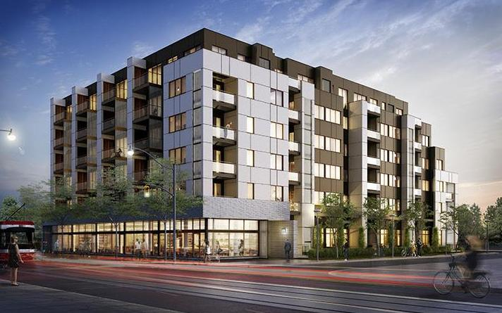 Scoop Condos at 1791 Saint Clair Avenue West, Toronto, Ontario. Image 1
