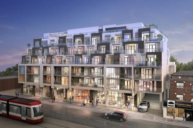 WestBeach Condos at 1630 Queen Street East, Toronto, Ontario. Image 2