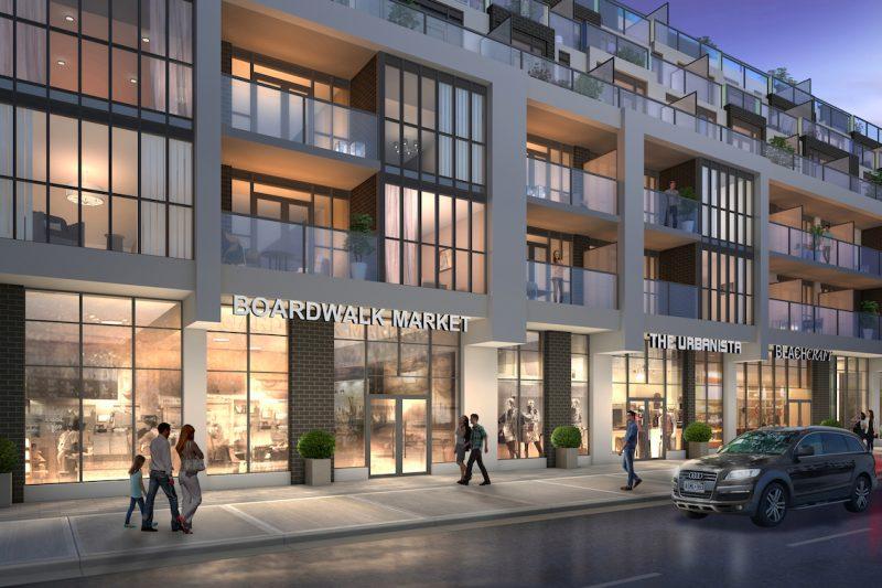 WestBeach Condos at 1630 Queen Street East, Toronto, Ontario. Image 3