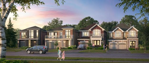 New Seaton at Brock Road and Taunton Road, Pickering, Ontario. Image 1