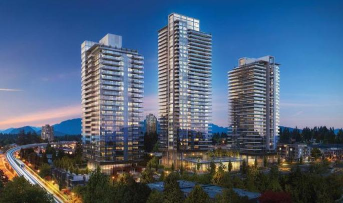 Lougheed Heights at Clarke Road and Foster Avenue, Coquitlam, British Columbia. Image 1