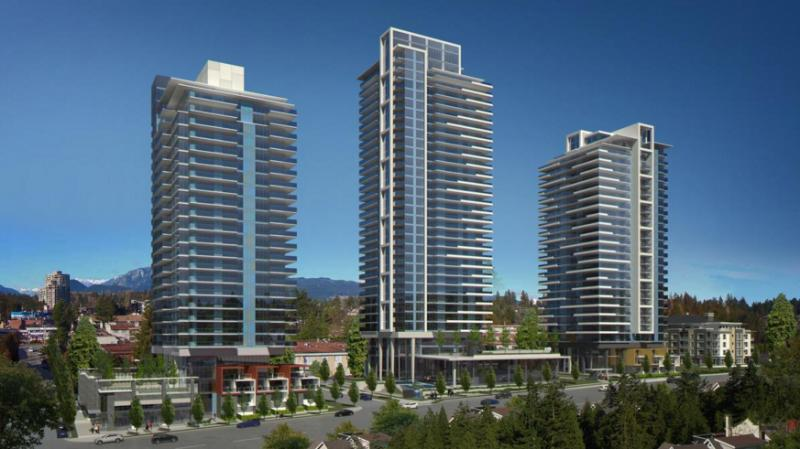 Lougheed Heights at Clarke Road and Foster Avenue, Coquitlam, British Columbia. Image 2