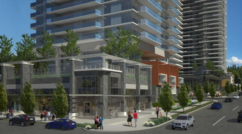 Lougheed Heights at Clarke Road and Foster Avenue, Coquitlam, British Columbia. Image 4