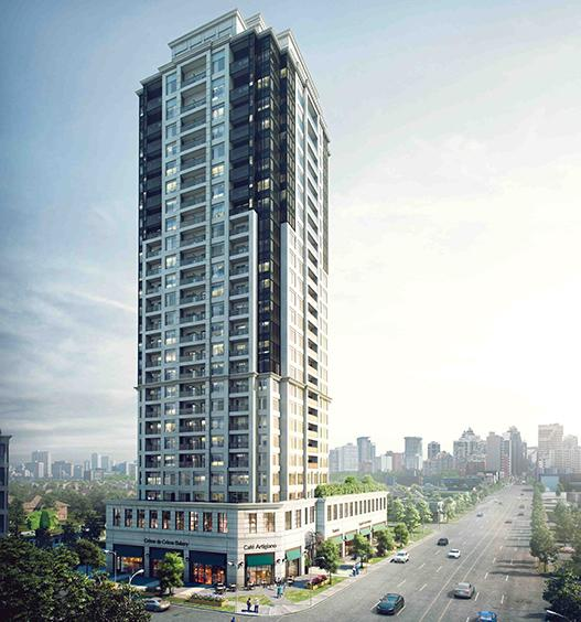 The Vanguard at 7089 Yonge Street, Markham, Ontario. Image 1