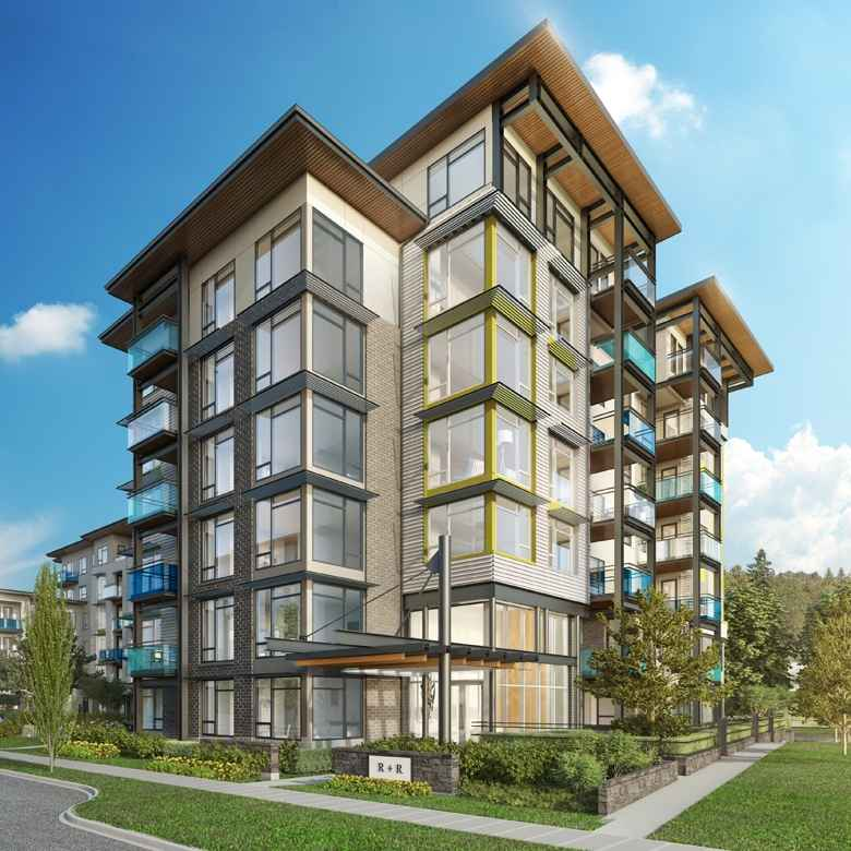 R + R at Kinross Street and East Kent Avenue N, Vancouver, British Columbia. Image 1